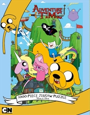 Adventure Time Tree House 1000 Piece Puzzle | Merchandise
