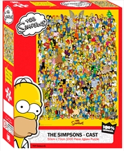 Simpsons Cast 1000 Piece Puzzle | Merchandise