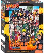Naruto Shippuden Cast 1000 Piece Puzzle | Merchandise