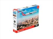 Qantas A330 Over Melbourne 1000 Piece Puzzle | Merchandise