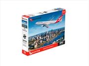 Qantas A330 Over Brisbane 1000 Piece Puzzle | Merchandise