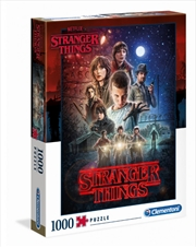 Stranger Things Season One Puzzle 1000 Pieces | Merchandise