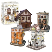 Harry Potter - Diagon Alley 3D Puzzle | Merchandise