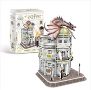 Harry Potter Gringotts Bank 74 Piece 3D Puzzle | Merchandise