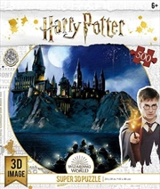 Super 3D Puzzle Harry Potter Hogwarts Puzzle 500 pieces | Merchandise
