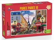 Funbox Puzzle Paree Paree Part 3 Puzzle 1,000 pieces | Merchandise