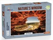 Funbox Puzzle Natures Window Australia Puzzle 1,000 pieces | Merchandise