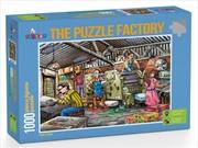 Funbox Puzzle the Puzzle Factory Puzzle 1,000 pieces | Merchandise