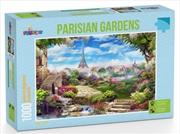 Funbox Puzzle Parisian Gardens Puzzle 1,000 pieces | Merchandise