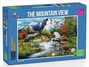 Funbox Puzzle Perfect Places the Mountain View Puzzle 1,000 pieces | Merchandise