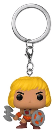 Masters of the Universe - He-Man Pocket Pop! Keychain | Pop Vinyl