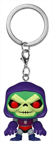 Masters of the Universe - Skeletor with Terror Claws Pocket Pop! Keychain   Pop Vinyl