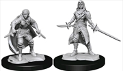 Dungeons & Dragons - Nolzur's Marvelous Unpainted Miniatures: Half-Elf Rogue Female | Games