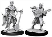 Dungeons & Dragons - Nolzur's Marvelous Unpainted Miniatures: Tiefling Bard Female | Games