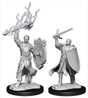 Dungeons & Dragons - Nolzur's Marvelous Unpainted Miniatures: Half-Elf Paladin Male | Games