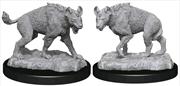 WizKids - Deep Cuts Unpainted Miniatures: Hyenas | Games