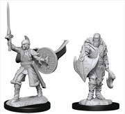 Magic the Gathering - Unpainted Miniatures: Human Berserkers | Games