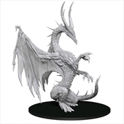 Pathfinder - Deep Cuts Unpainted Miniatures: Blue Dragon | Games