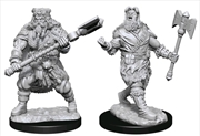 Dungeons & Dragons - Nolzur's Marvelous Unpainted Miniatures: Human Barbarian Male | Games