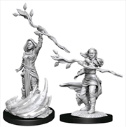 Dungeons & Dragons - Nolzur's Marvelous Unpainted Miniatures: Human Druid Female | Games