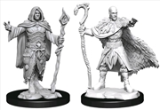 Dungeons & Dragons - Nolzur's Marvelous Unpainted Miniatures: Human Druid Male | Games