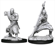 Dungeons & Dragons - Nolzur's Marvelous Unpainted Miniatures: Warforged Monk | Games