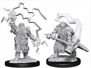 Dungeons & Dragons - Nolzur's Marvelous Unpainted Miniatures: Dwarf Cleric Male | Games