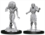 Dungeons & Dragons - Nolzur's Marvelous Unpainted Miniatures: Drowned Assassin & Drowned Asetic | Games