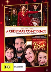 A Christmas Coincidence / A Holiday Wish Come True | Christmas Double | DVD
