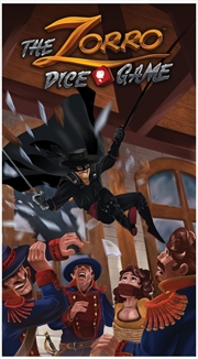 Zorro Dice Game, The | Merchandise