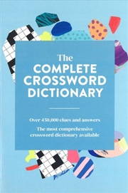 Complete Crossword Dictionary | Paperback Book