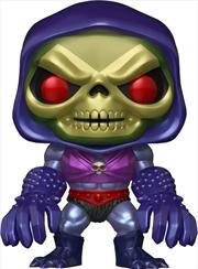 Masters of the Universe - Skeletor with Terror Claws Metallic US Exclusive Pop! Vinyl [RS] | Pop Vinyl