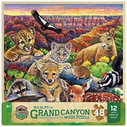 Wood Fun Facts Grand Canyon 48 Piece Puzzle | Merchandise