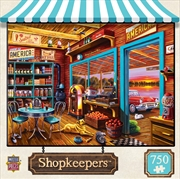 Shopkeepers Henry's General Store Puzzle 750 Piece Jigsaw Puzzle | Merchandise