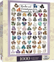 Art Rocks & Gemstones from Around the World Puzzle 1,000 pieces | Merchandise