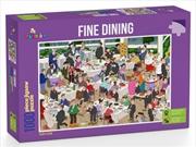 Fine Dining Puzzle Puzzle 1,000 pieces | Merchandise