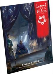 Legend of Five Rings RPG Sins of Regret Adventure Book | Merchandise