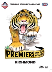 AFL - 2020 Premiers Richmond Tigers | DVD