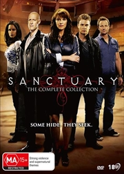 Sanctuary | Complete Collection | DVD