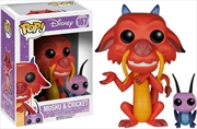 Mulan - Mushu & Cricket Pop! Vinyl | Pop Vinyl