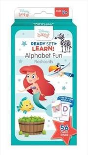 Disney Baby: Ready Set Learn! Alphabet Fun Flashcards | Merchandise