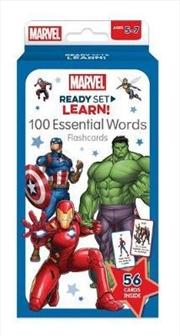 Marvel: Ready Set Learn! 100 Essential Words Flashcards | Merchandise
