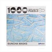 Buncha Masks 1000 Piece Jigsaw Puzzle | Merchandise
