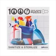 Sanitize & Sterilize 1000 Piece Jigsaw Puzzle | Merchandise
