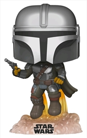 Star Wars: The Mandalorian - Mandalorian Flying US Exclusive Pop! Vinyl [RS] | Pop Vinyl