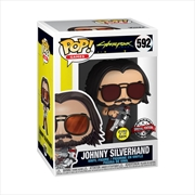 Cyberpunk 2077 - Johnny Silverhand Glow US Exclusive Pop! Vinyl [RS] | Pop Vinyl