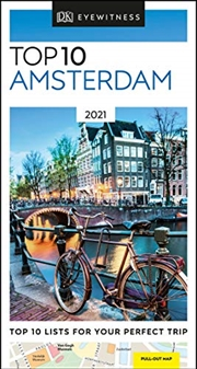 Dk Eyewitness Top 10 Amsterdam (pocket Travel Guide) | Paperback Book