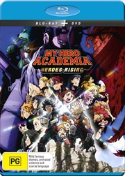 My Hero Academia The Movie - Heroes Rising | Blu-ray + DVD | Blu-ray/DVD