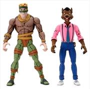 "Teenage Mutant Ninja Turtles - Rat King & Vernon 7"" Action Figure 2-pack | Merchandise"