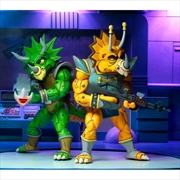 "Teenage Mutant Ninja Turtles - Captain Zarax & Zork 7"" Action Figure 2-pack | Merchandise"